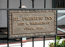 El Presidio Inn Historic Marker