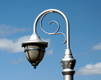 El Presidio Historic District Street Lamp